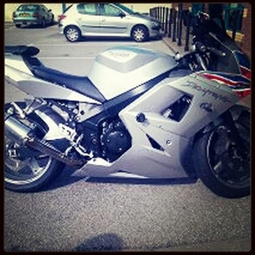 My motor cycle Enjoying Life