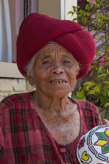 Hat Indonesia Bali Ubud Lady Old Seller