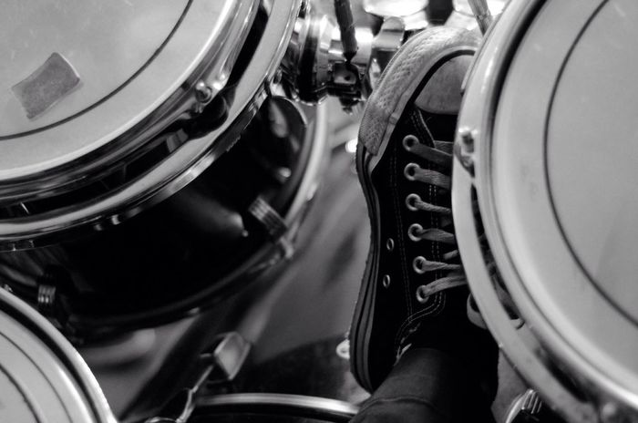 Fine Art Photography Nikonphotography Urban Lifestyle Nikon Nikon D5100  Check This Out Publicity Image Drums Drummer Drumming Drummer Life Drumkit Converse Converse All Star Converse⭐