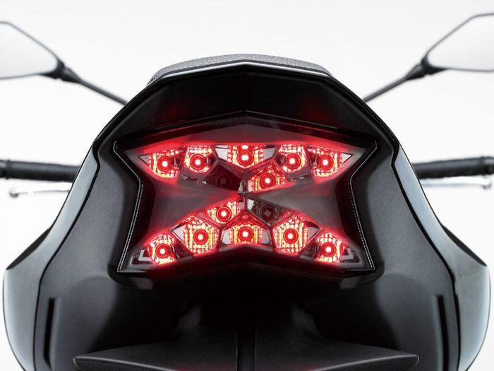 Asome Bike Red Tell Light