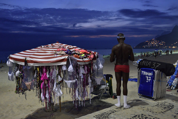 Red, white and blue Beach Bikini Blue Brazil Deck Chairs Ipanema Beach Parasol Red Red Pants Rio Rio De Janeiro Socks Street Photography White Socks The Street Photographer - 2017 EyeEm Awards Live For The Story Live For The Story Sommergefühle Breathing Space Connected By Travel