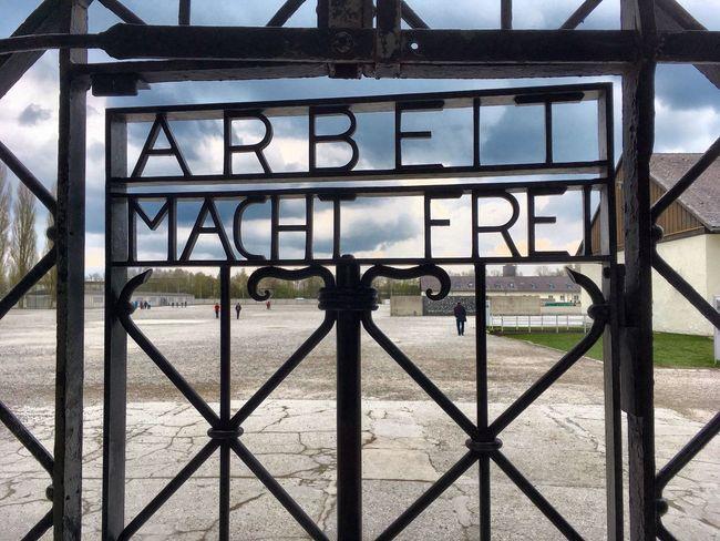 Dacau Concentrationcamp Neveragain München