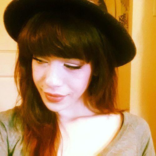 Rainy days means it's a hat kinda day. Staydry