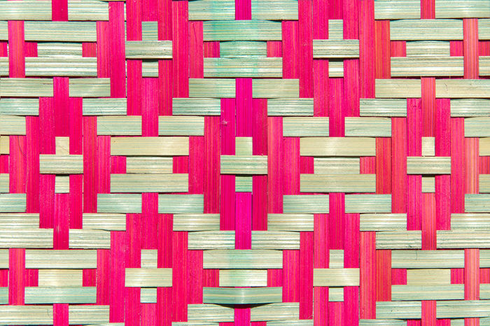 close up of bamboo wooden pattern texture Mat Pattern, Texture, Shape And Form Rattan Weave Art Backgrounds Bamboo Bamboo Wooden Close-up Craft Design Indoors  No People Pattern Pattern Texture Shape Design Seamless Pattern Shape Textured  Weave Pattern Wood - Material