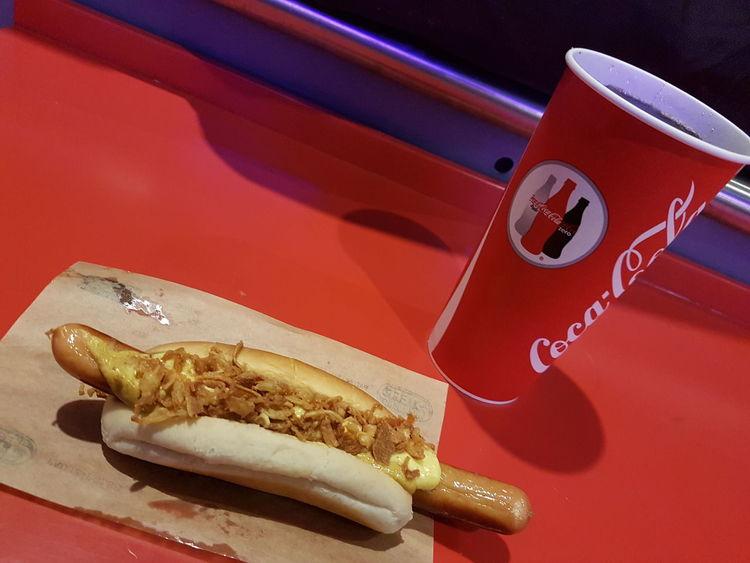 Copenhagen Airport Danish Food Food Food And Drink Fast Food Copenhagen Denmark Danmark København Kopenhagen Danish Dinamarca Hungry Cold Drink Sausagedog Sausage Bread Food And Drink Served Baguette Prepared Food Eaten