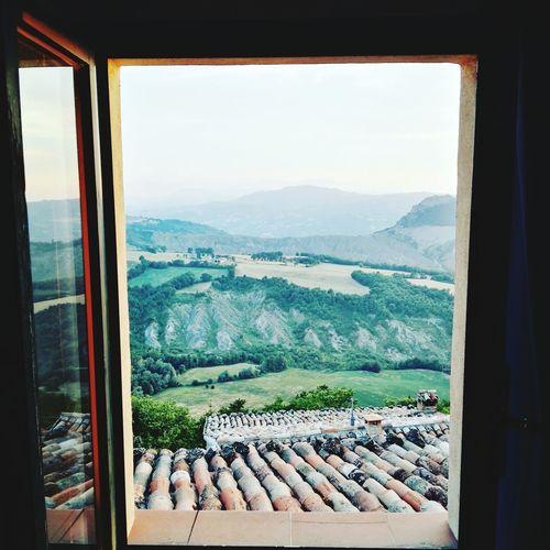 Emilia Romagna San Leo Travel Huawei Mate S No People Finestra Con Vista Windows Hills Nature Day Window