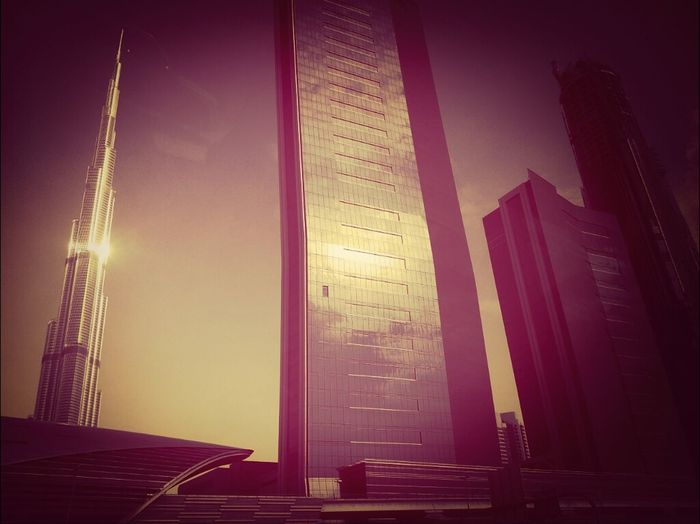 Shaikh Zayed Road - Burj Khalifa - We Miss You Baba Zayed