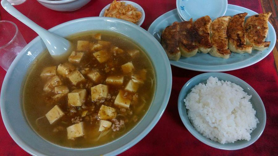 Food Foodporn Foodphotography Yummy In My Mouf Enjoying A Meal Chinese Food Ramen 麻婆豆腐 餃子