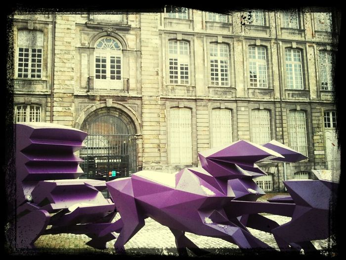 Sculpture Xavier Veilhan  Carosse