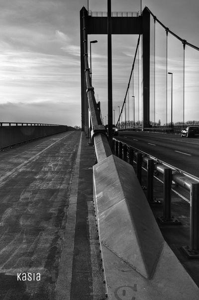 Blackandwhite Germany Bridge Ruhrort Duisburg