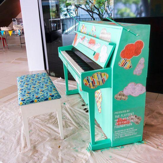 Showcase March Piano Streetpiano Colour Of Life Piano Moments