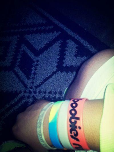My wrist bands