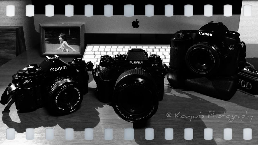 My Buddy Us Canon EOS 70D Canon A-1 FUJIFILM X-T1 Black And White Blackandwhite Black & White EyeEm Fujifilm's X-T1 is new comer as my camera gears. He was joined since yesterday to my party.😄😊 BigBiggerBiggest Commemorative Photo