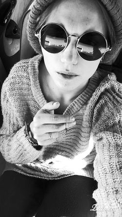 Sunglasses Women Day Relax Study Coffee And Cigarettes Blue Eyes Girl Keep Calm And Be Happy Felicidad Strong Woman Mañana Spirit Of Youth Senza Pensieri Now Only Women Sun Cigarette  Frio