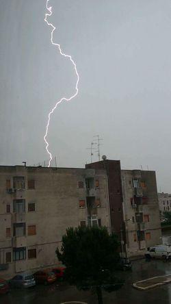 Lightning Thunderstorm Forked Lightning