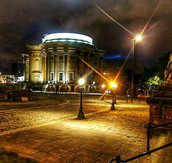 Night Illuminated Built Structure Architecture Building Exterior Outdoors City No People Sky Night Walk Around The Town Storm Cloud Taking A Bath Takeing Photo City Liverpool England Day