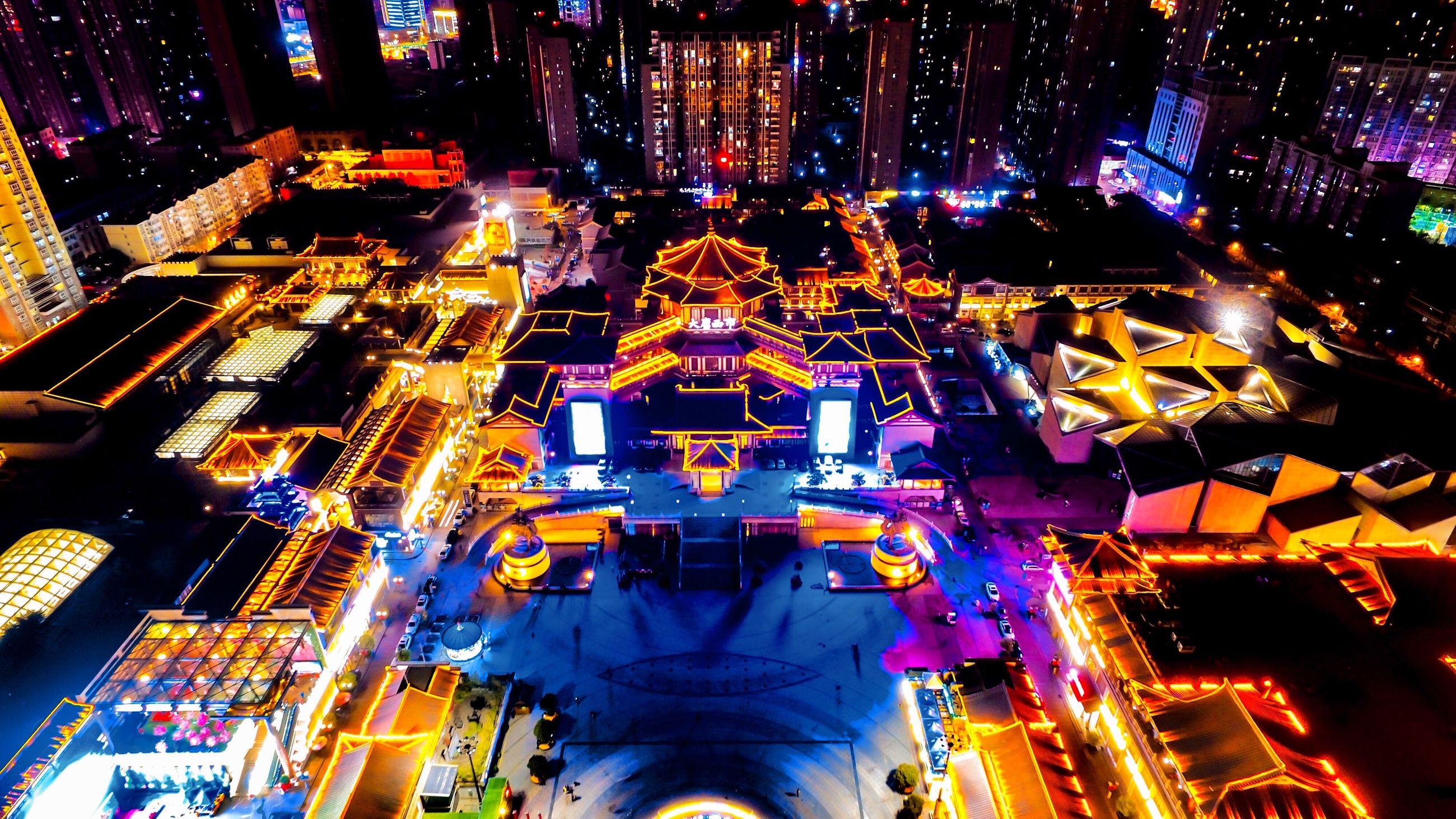 illuminated, travel destinations, night, urban skyline, modern, city, sky, skyscraper, cityscape, no people, outdoors
