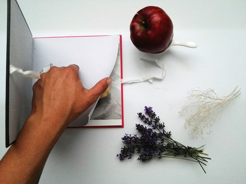 Love books Human Body Part Human Hand One Person People Only Women Close-up EyeEmNewHere Herb Cooking Book Book Table Indoors