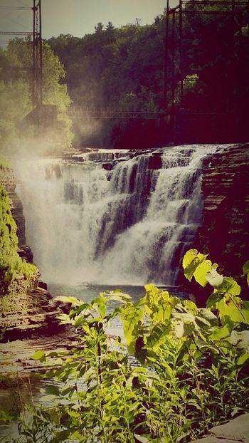 Letchworth State Park Upper Falls First Eyeem Photo
