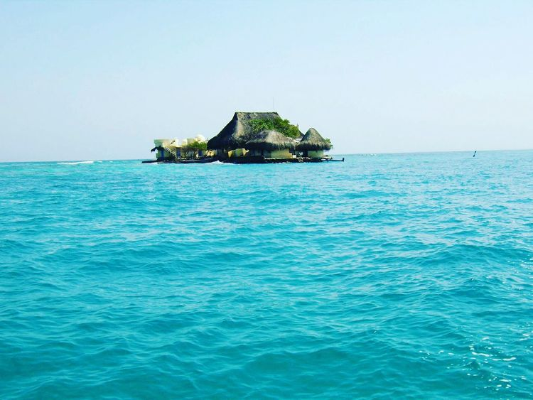 Colombia Caribbean Sea Sudamerica Seascape Islandlife Amazing Viajera MyLifeInPictures Seetheworld  Travelgram Travel Destinations Tranquil Scene Sky Beauty In Nature Wanderlust Beach Caribe Paradise Beach Isladelcaribe