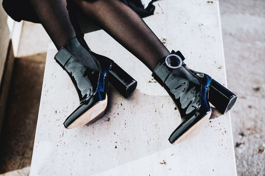 Human Body Part Fashion People Outdoors Close-up Day Blogger Fashionblogger Fashionphotography Women Boots Blackboots  Urban Street Streetphotography Street Fashion Casual Clothing One Person Adults Only Low Section One Woman Only Beauty Fashion