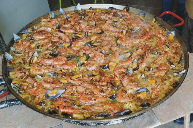 Paella Gigante. ComidaEspañola Asturias Food SHELLFISH  Colors Of Nature Eyeemphotography EyeEm Gallery Photography