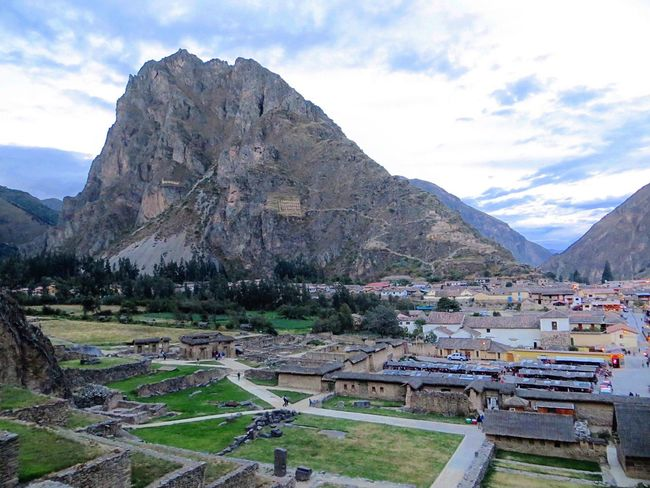 Mountain Mountain Range Scenics Beauty In Nature Tranquility Sky Nature Tranquil Scene Cloud - Sky Day Landscape Outdoors No People Physical Geography Architecture Peru Ollantaytambo - Peru Ollantaytambo