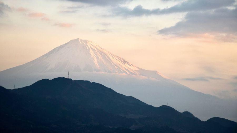 Shizuoka Mt Fuji Mountain Sky Beauty In Nature Cloud - Sky No People Nature
