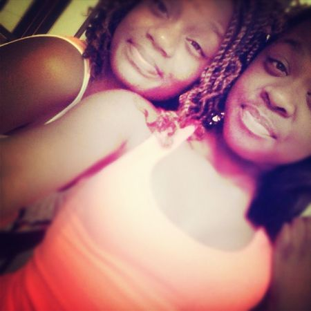Throwback Of Me & My God Sis (: