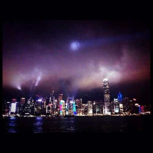 Party Lights at HongKong City Hello World Enjoying Life Eye4photography  HongKong