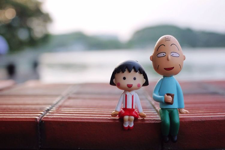 小丸子 友藏 フチ子 Park Lake View Lakeside Cup Dolls Comics Lovers