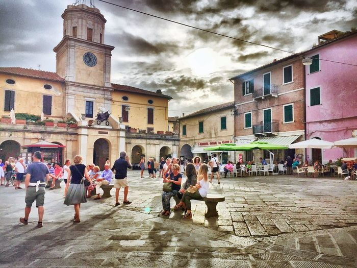 Cityview Citylife Italy Pastel Pastel Power Tuscany Chilling Colorful Feel The Journey Atmospheric Mood Sky And Clouds Cityescape Travel Photography