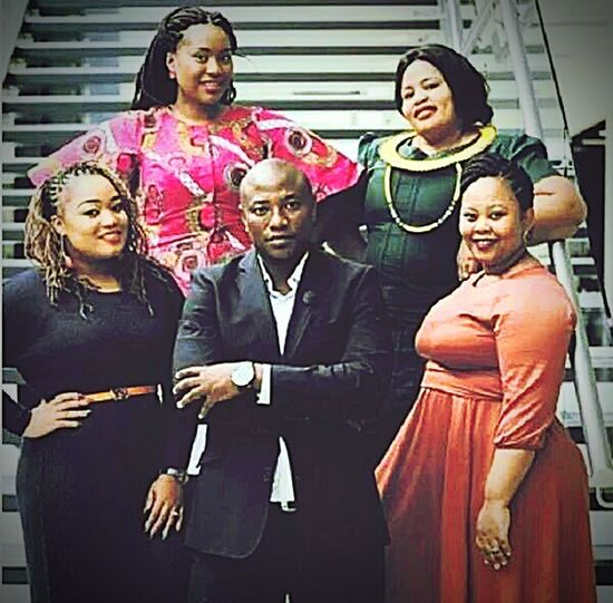 Man happily married to 4 wives in SA South Africa Polygamy Tvshow First Eyeem Photo