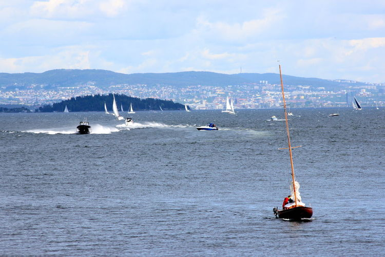 Day Oslo Oslofjord Sailboat Sea Sea Life Seascape View Yatch An Eye For Travel