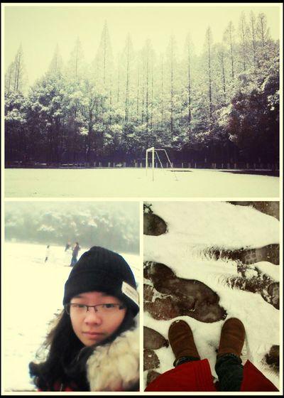 enjoy snowy。。。。。 That's Me Hello World Hi! Enjoying Life Snow ❄ Weather Holiday