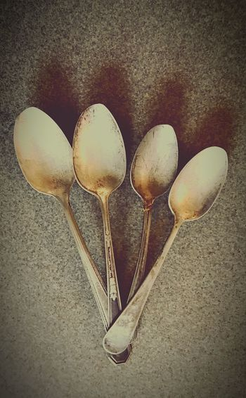 Lieblingsteil Spoon Spoons Utensils IPhone Photography Silver  Food Close-up Made Of Metal Light And Shadow