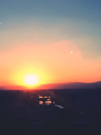 Sunset Sun Orange Color Beauty In Nature Scenics Nature Sky Tranquil Scene Tranquility Silhouette No People Idyllic Landscape Outdoors Sunlight Clear Sky Day Live For The Story BYOPaper! City Italy Vacations EyeEm Gallery EyeEm Romantic The Street Photographer - 2017 EyeEm Awards The Great Outdoors - 2017 EyeEm Awards Live For The Story