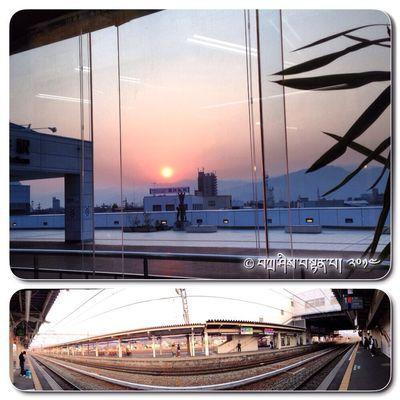 Pagi Ini ڤاڬي اين Matahari Terbit ماتهاري تربيت Stesen ستيسين Kereta Api كريتا اڤي