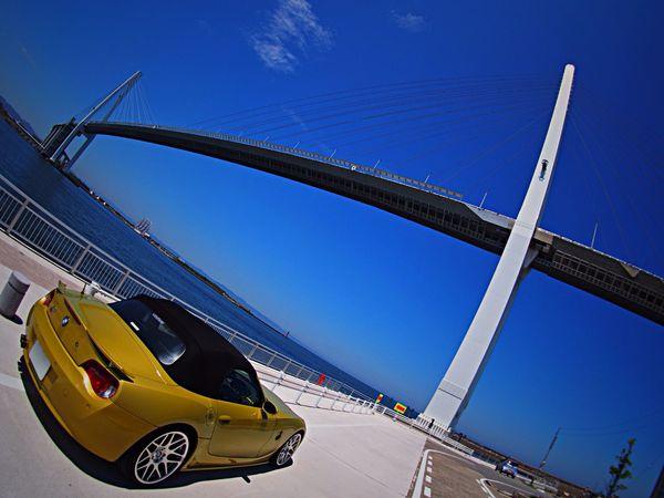 東海・近畿・中国が梅雨明け‼️あれ?北陸は?😥💦 新湊大橋 Summer Bridge Bmw EyeEm Nature Lover EyeEm Best Shots - Nature Sea And Sky Seaview Toyama-shi Japan