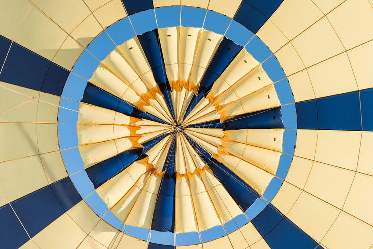 Low angle view of balloons