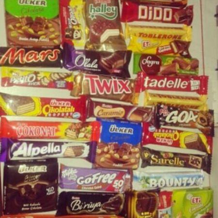 çikolata Aşkı çikolatam kadar değerli misin :)