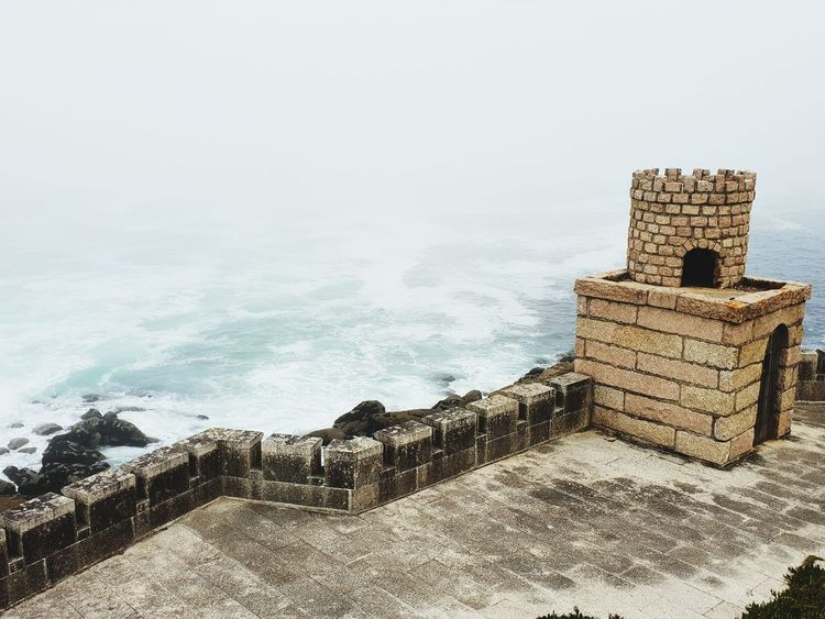 Fort Castle Ocean Ocean View Atlantic Ocean Water Sea Beach Sand Wave Sky Horizon Over Water