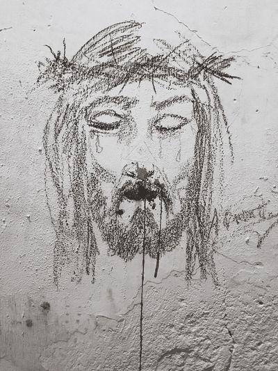 Jesus street art. Streetart Jesus ArtWork