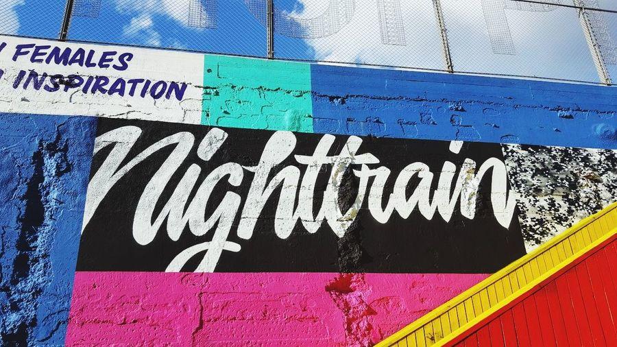 N I G H T T R A I N ❤️🧡💛💚💙💜 Cute Collors Collourfull Nighttrain Train
