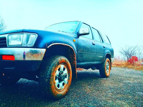 Toyota 4runner off road #offroad #toyota #4runner #mud #durty