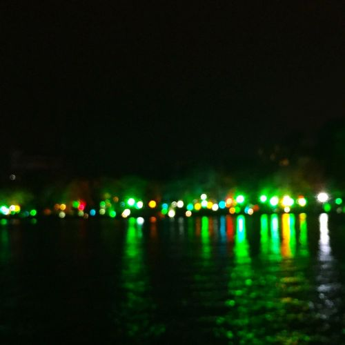 Séduisant JiangJing la nuit. 光 影 The Dim Light Of Night