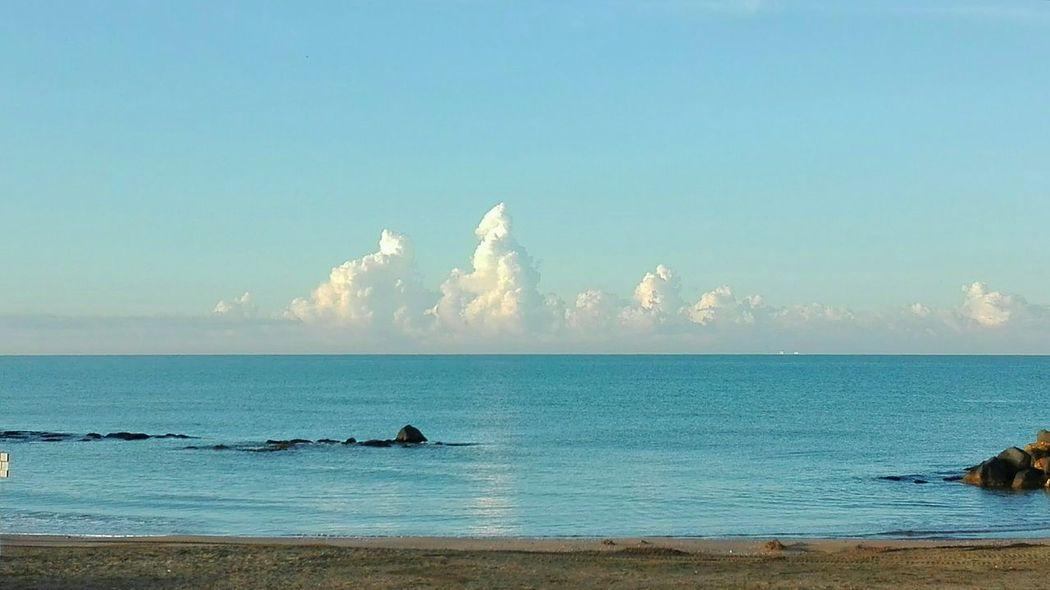 Sea and sky Clouds Nuvole Cielo E Nuvole Mare marina di san nicola