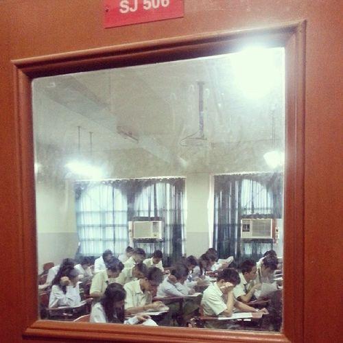 Mangahoy time. Haha! Good luck blockmates. ;) Departmentals