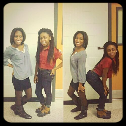 Me And My Boo :*