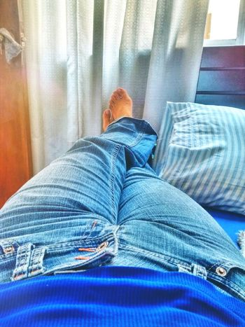 Reloading... Lay Person My Feet Resting Reloading Sick Day Bed Cozy Place Warm Colors Warming The Soul Warm Getting Some Rest Relaxing Our Best Pics Popular Photos EyeEm Best Shots Showcase April That's Me Blue Jeans